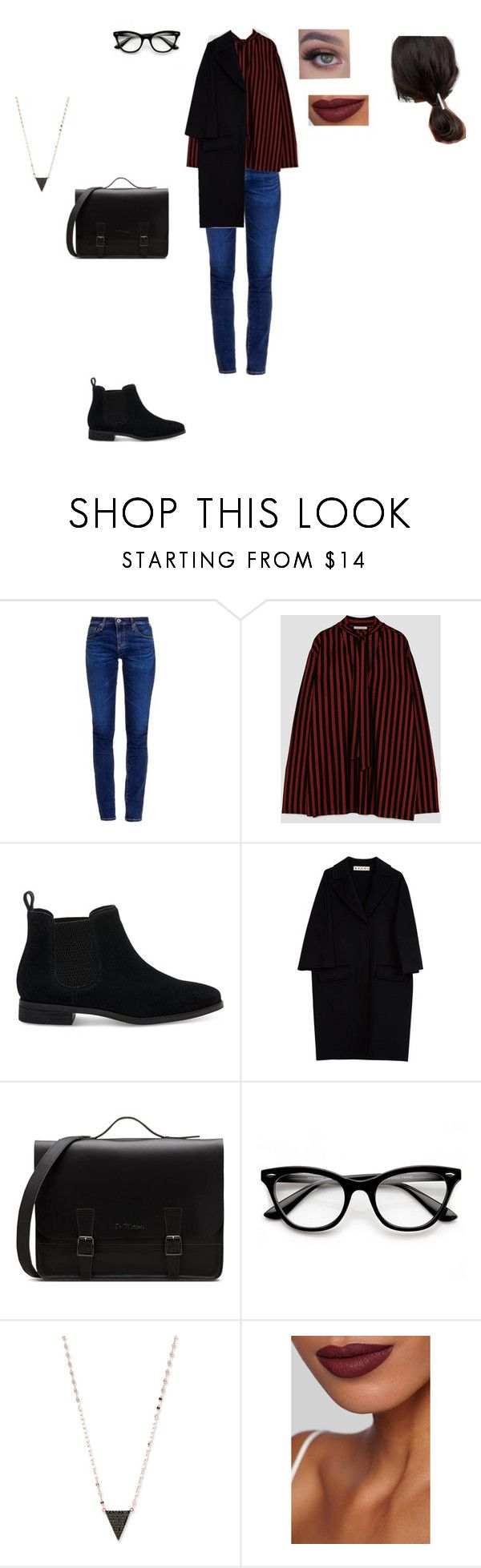"""Casual Outfit"" by helena94-1 on Polyvore featuring AG Adriano Goldschmied, TOMS, Marni, ZeroUV, Lana, Burberry, ASOS and polyvorefashion"