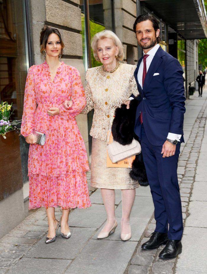 Prinsessan Sofia Marianne Bernadotte Och Prins Carl Philip
