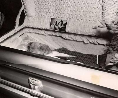The Murder of Emmett Till. His courageous mother insisted on an open-coffin funeral.
