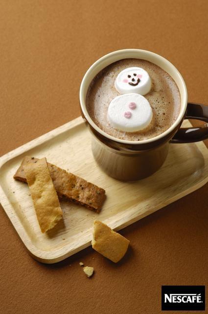 雪だるまでほっこり♪  ネスカフェ NESCAFE (ネスレ日本)