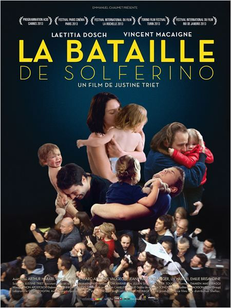 La Bataille de Solférino, de Justine Triet (2013) - Affiche