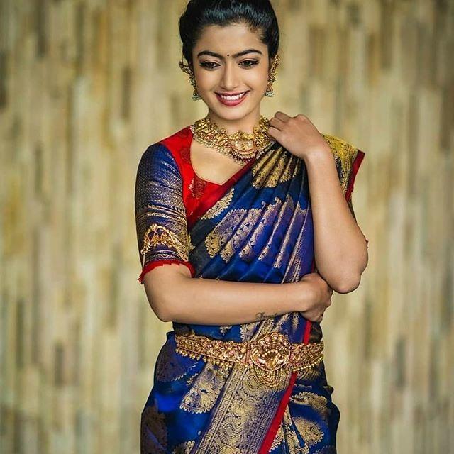 Kanjivaram Saree Blouse Back Design