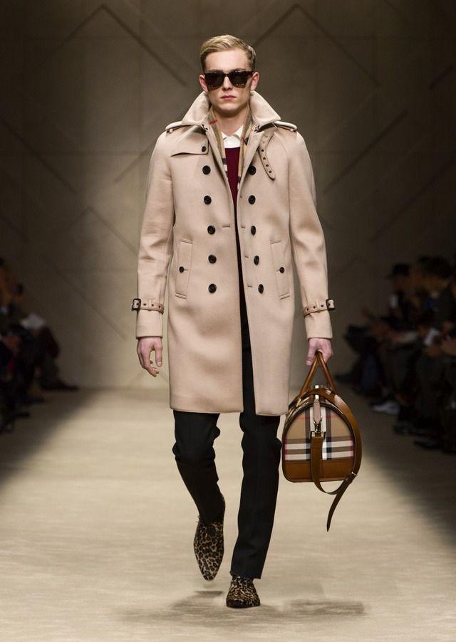 【2013-14秋冬メンズコレクション】バーバリー プローサムはクラシックなコートが主役 1枚目