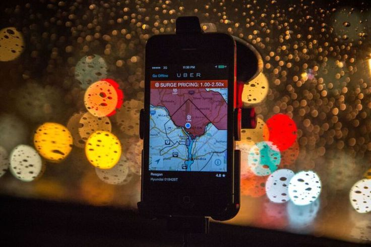 Uber switches out surge for pricetransparency Sharing