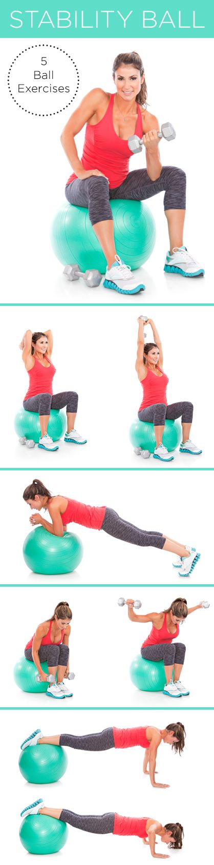5 Stability Ball Exercises