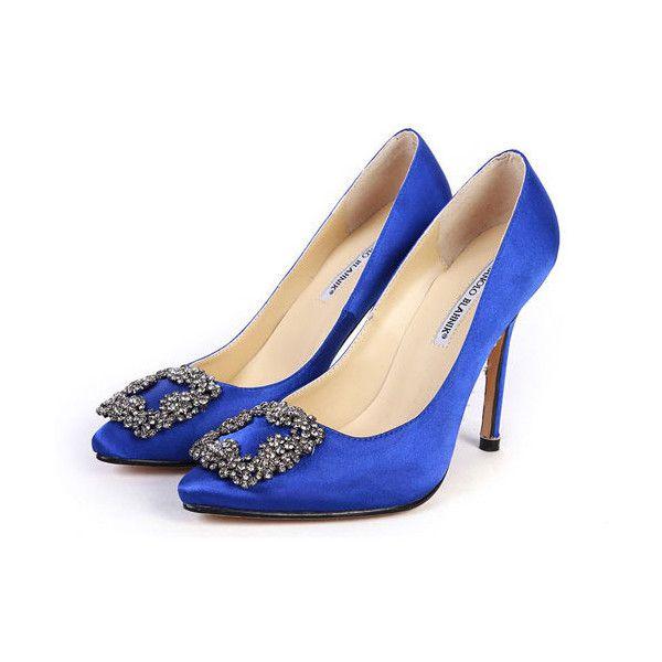 Manolo Blahnik Something Blue Sex and the City Manolo Blahnik Wedding Shoes