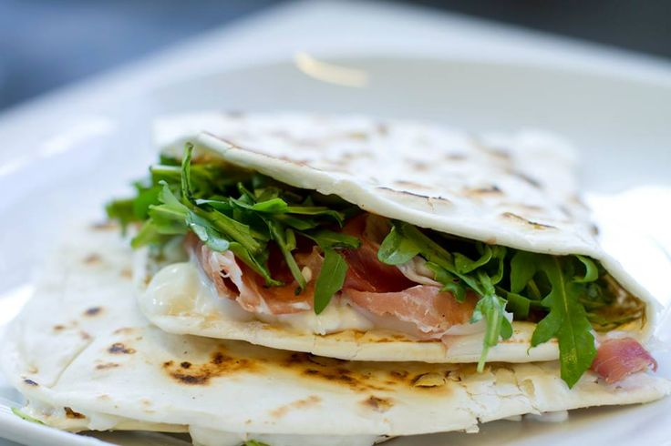 Piadina A must-try in Romagna!