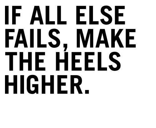 Project Fairytale: Sunday Morning Quote High Heels