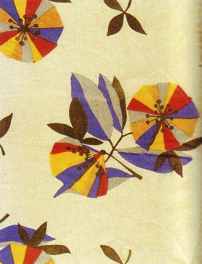 1920's fabrics designed by Maria Likarz