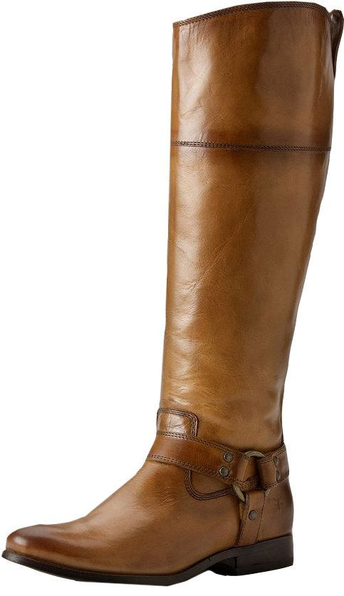 Frye Melissa Harness Zip, $428 | 36 Gorgeous Boots For Women With Wide Calves
