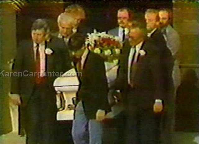 Karen Carpenter Funeral | United Methodist Church | Downey, CA | 1983