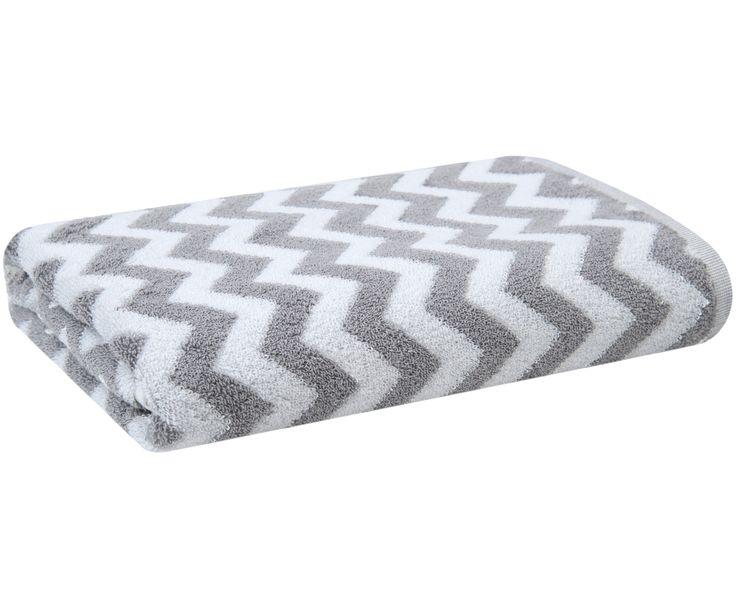 Entdecken Sie Duschtuch Liv in Grau, Weiß jetzt bei >> WestwingNow. Lassen Sie sich von mjukis. inspirieren