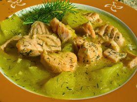 Guiso de salmón con patatas Ana Sevilla con Thermomix