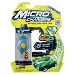 Micro Chargers Launcher Pack with Stunt Car