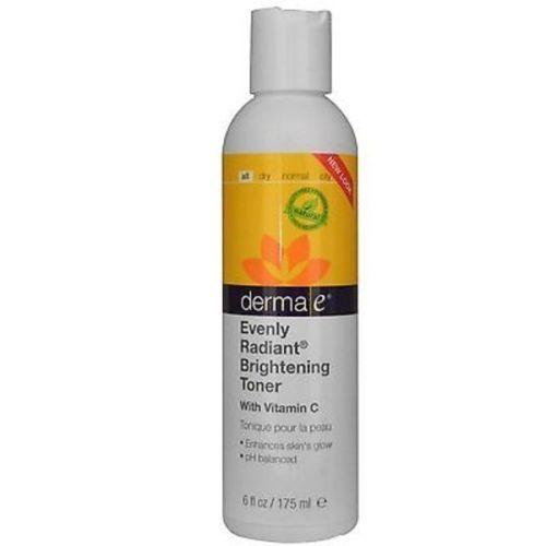 DermaE-Evenly-Radiant-Toner-6oz-2003-Derma-E-Exp-8-17-SD
