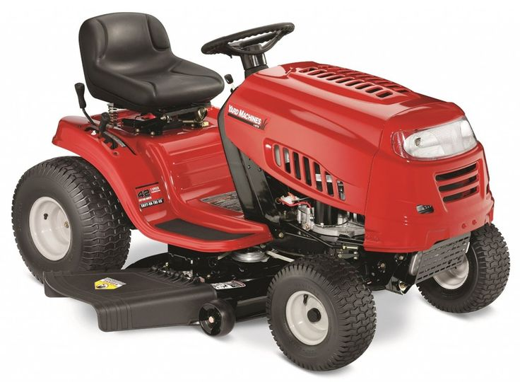 Yard Machines 420cc lawn mower/tractor  #lawnmower #lawntractor #garden #yard #home #affordable #powerful  Top 10 Best Lawn Mowers & Tractors in 2015 Reviews - buythebest10