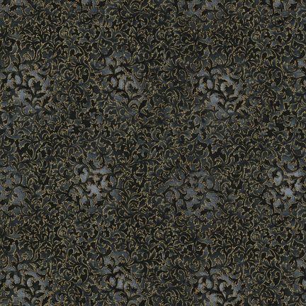 Robert Kaufman Fabrics: EYJM-6644-181 ONYX from Fusions® 6644