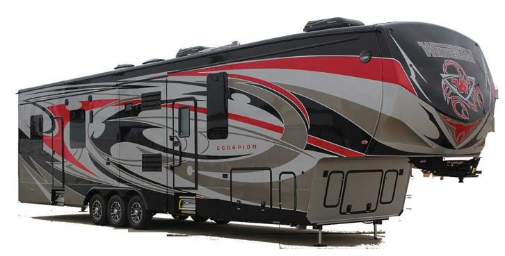 Winnebago Scorpion 4014 Toy Hauler Toy Hauler Rv Fifth Wheel Toy Haulers