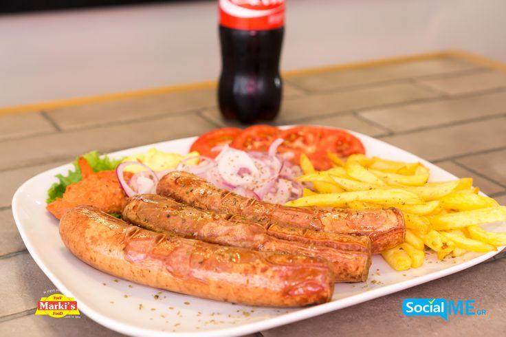 Μήπως να φας λουκάνικα σήμερα;;;Aν δεν έχεις δοκιμάσει δεν ξέρεις τι χάνεις!! Παραγγελία Online: www.markisfood.gr με -20% στην πρώτη σου παραγγελία..!!! #MarkisFood #Food #Thessaloniki