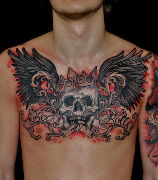 100 ideas to try about tat refs chest tattoos for men for Sweet chest tattoos