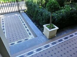 tessellated tile path