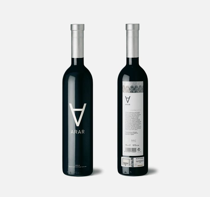 arar - moruba    Brand, identity and line of packaging for an unusual wine cellar from the D.O.Ca Rioja