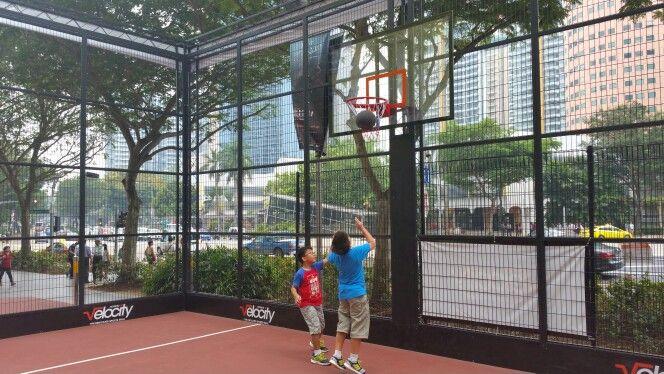 Basketball at Velocity - Sep 2015