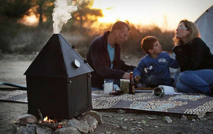The Ziv Portable Smoker Is Perfect For Your Next Camping Trip