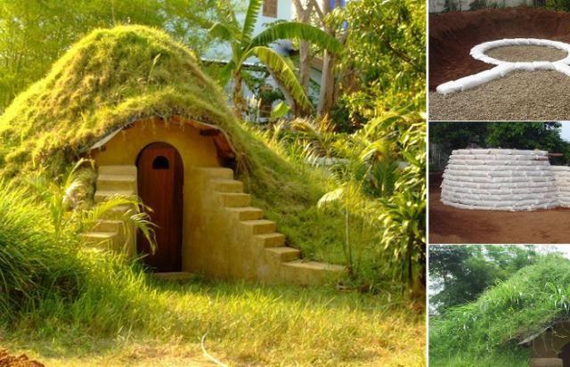 Une maison de Hobbit à faire chez vous ! © instructables