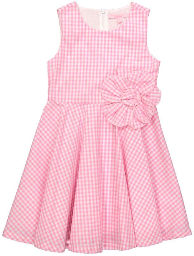 351d54bbc0c6a E-Land Girls' Michelle Dress #pink #gingham #affordable #easter ...