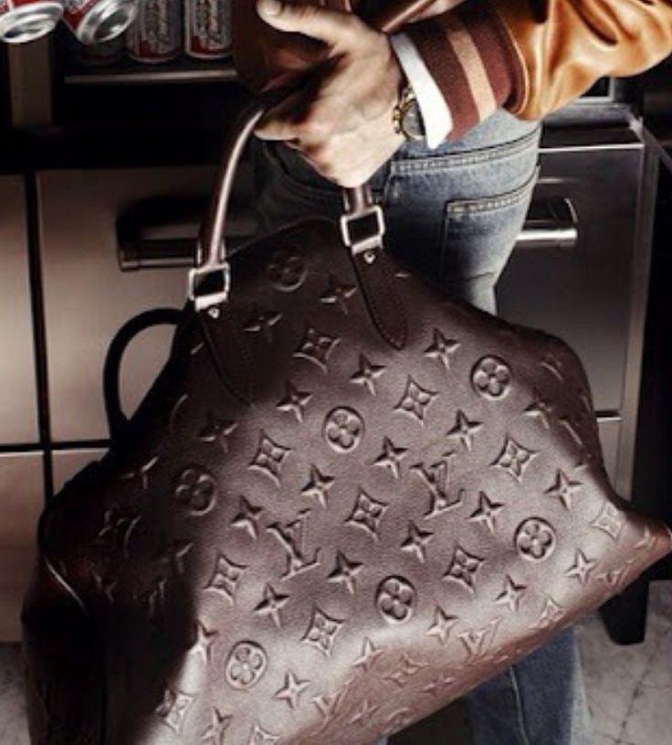 Mens Brown LV Monogram Duffle. Mens Fall Winter Fashion. Fashion bags | Buy Online Get Free Shipping | Emma Stine Limited.▲▲$129.9
