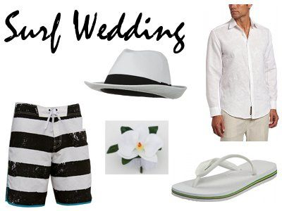 Surfer Wedding, beach wedding attire for men