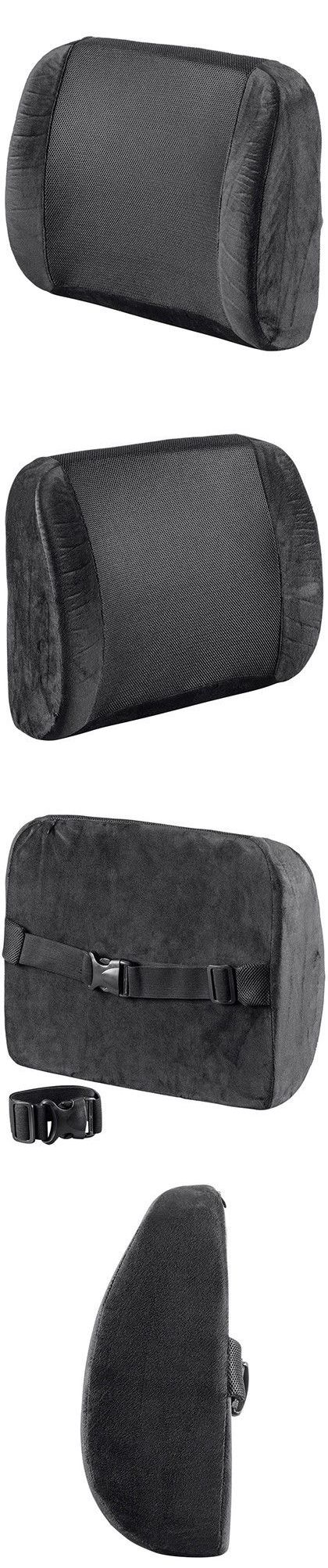 Seat and posture cushions lumbar cushion back support travel pillow memory foam car seat home