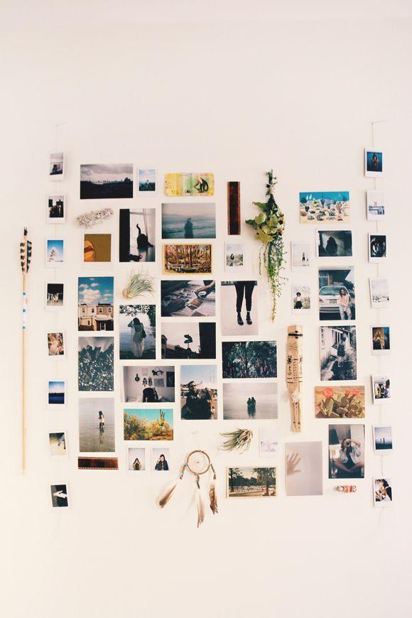 Weekend Do: Start A Photo Wall
