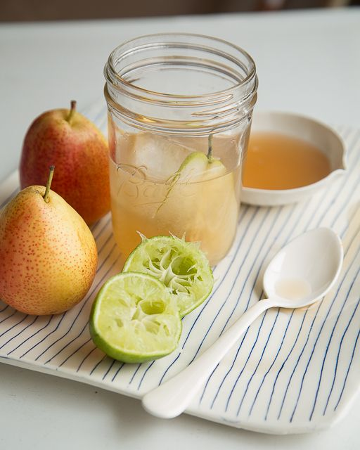 Spiced Pear & Ginger Cocktail! #SweetPaul #Cocktail