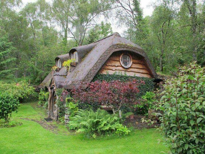 Tiny House In Scottish Highlands