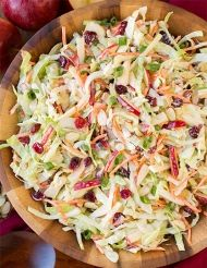 Velká salátová mňamka - salát Coleslaw trošku jinak