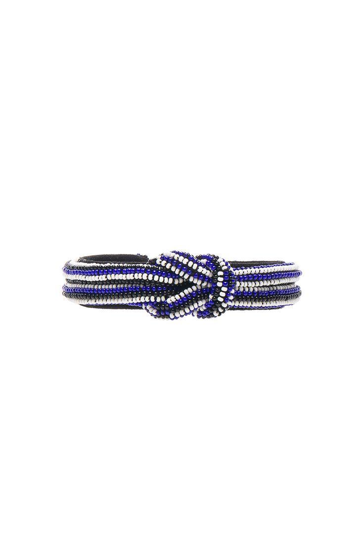 Image 1 of Isabel Marant Bou Saf Saf Bracelet in Navy