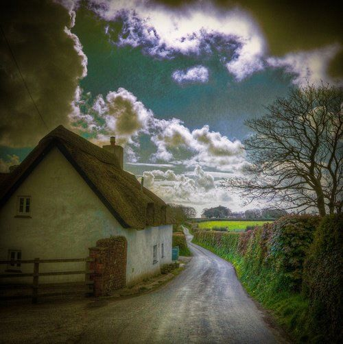 Ancient Lane, Cornwall, England