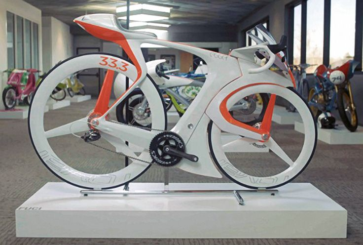 Innovative high-tech bike prototype breaks all the rules. See video link.