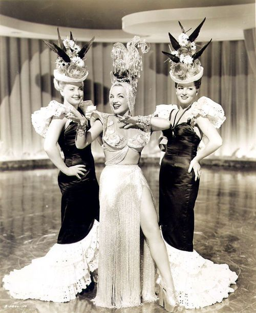 154 best images about 1940's Movie Star Fashions on Pinterest | Ava gardner, Carmen miranda and ...