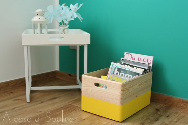 Legno e colori | A casa di Sophia
