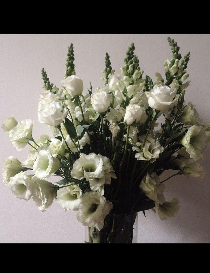 Flowers white bouquet
