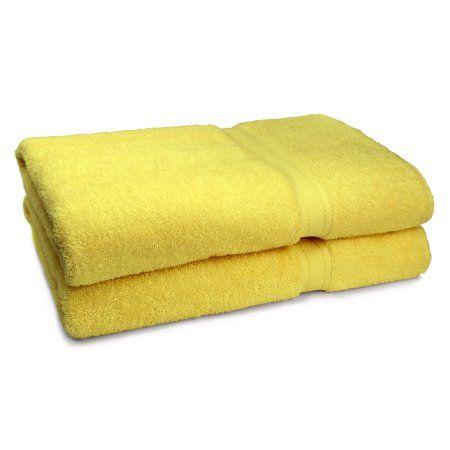 Cambridge Grand Egyptian Egyptian Cotton Towel Set (Set of 2), Brown