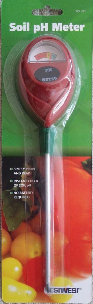 Soil pH Meter Gardeners soil pH meter, tester  | eBay
