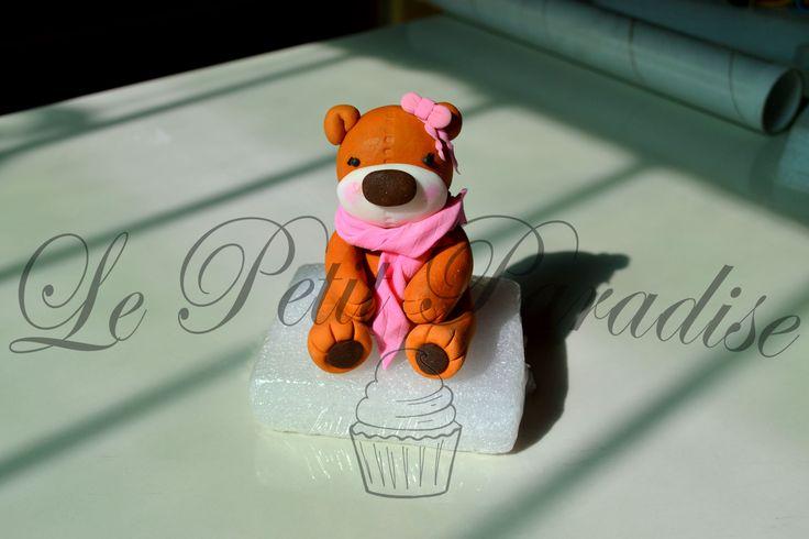 ♔Baby Shower Girl Bear  https://www.facebook.com/petit.paradise/photos