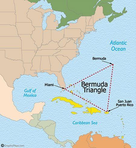 Fotos De Los Fenomenos paranormales mas famosos...El Triangulo De Las Bermudas