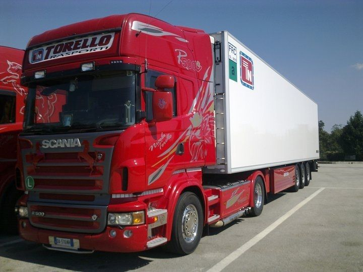 scania r 500 v 8 torello transport