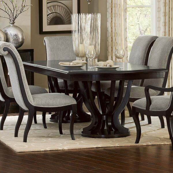 Baypoint Dining Table In 2021 Elegant Dining Room Dining Room Table Decor Luxury Dining Room