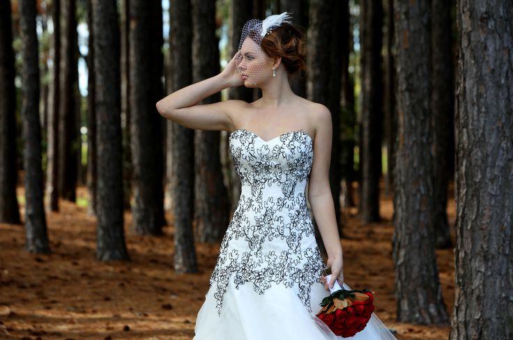 The Pine Forest, Miami, Gold Coast.  Bridal Fashion Shoot